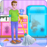 Daddy Messy House Cleaning APK İndir